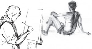 Life Drawing @ HIM Office | Vancouver | British Columbia | Canada