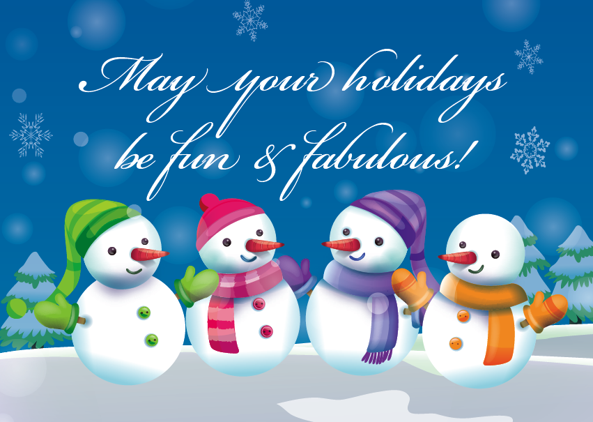 2014 Holiday Card cover